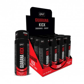 QNT Guarana Kick 2000 mg Energy Booster 12 x 80 ml