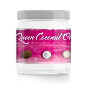 Gymqueen Coconut OIL 400ml Glas