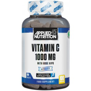 Vitamin-C 1000mg + Rosehips - 100 tabs