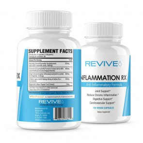 Revive MD Inflammation Rx 120 Veggie Caps