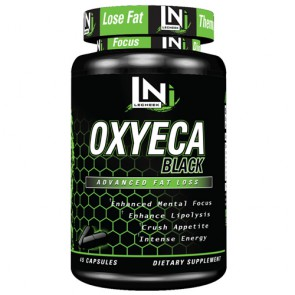 Lecheek Nutrition OxyECA Black 45 Kapsel