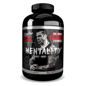 Rich Piana 5% Nutrition Mentality Nootropic Blend (intl) 60 caps