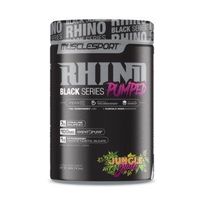 MuscleSport – RHINO Black Pumped 40 serv