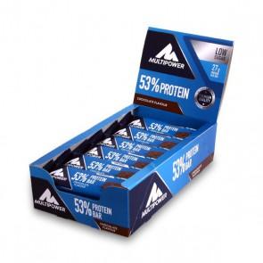 Multipower 53% Protein Bar 24x 50g