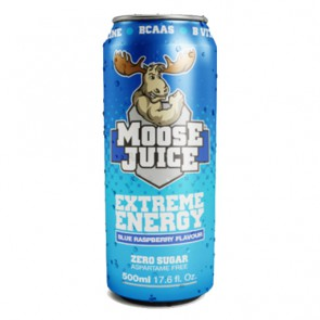 Muscle Moose Juice Energy BCAA Drink Zero Sugar - (12x500ml)