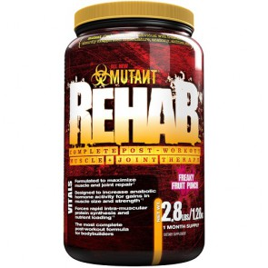 Mutant Rehab - 1280g Fruit Punch
