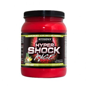Myogenix Hyper Shock Rage 880g