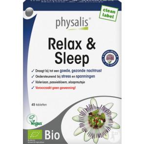 Physalis Relax & Sleep Bio 45 Tabletten