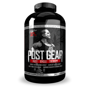 Rich Piana 5% Nutrition Post Gear PCT Support 240 Caps