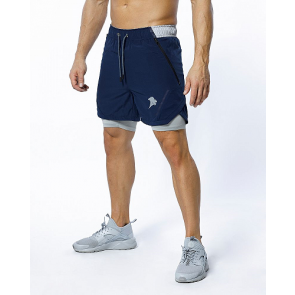 PROBROWEAR - Performance Shorts Navy