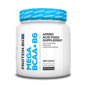 Protein.Buzz Mega BCAA+B6 220 Tbl.