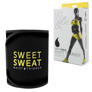 Sweet Sweat Premium Waist Trimmer Abs  Yellow