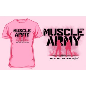 Scitec T-Shirt Army Girl Azalea