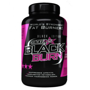 Stacker2 Black Burn Fatburner - 120 Kapsel