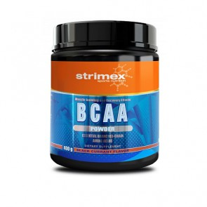 Strimex BCAA Pulver 400g, Black Currant