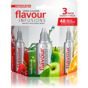 Supashape Flavour Infusion 3 Pack