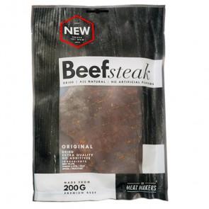 TMM Meatmakers Jerky Trockenfleisch - Beef Steak - Beutel einzelnd 200g