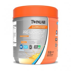 Twinlab Pre-Workout Activator 454g, Natural Citrus