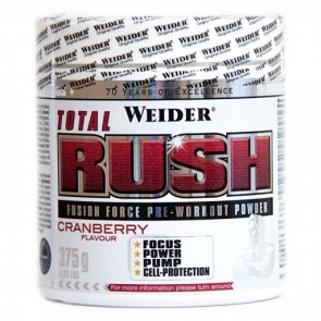 Weider Total Rush Booster 375g Cranberry