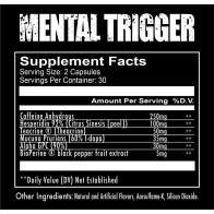 Redcon1 Mental Trigger 60 Caps