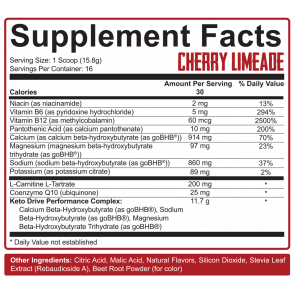 Rich Piana 5% Nutrition Keto aSALT with goBHB Salts (intl) 252 gr