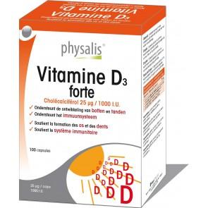 Vitamine D3 forte 100 caps