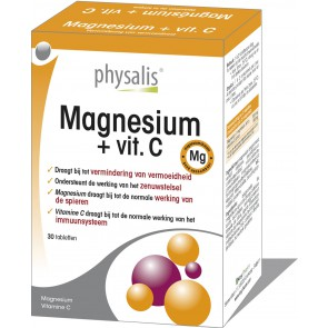 Magnesium + vit. C 30 tabs