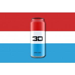 3D Energy Drink 24 x473ml Liberty pop