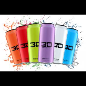 3D Energy Drink 24 x473ml