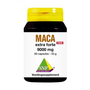 Pure Maca  extra forte 9000 mg puur