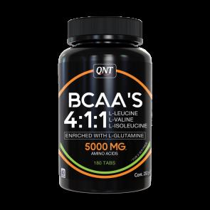 QNT BCAA'S 4:1:1 + L-Glutamine tabs 180 tabs