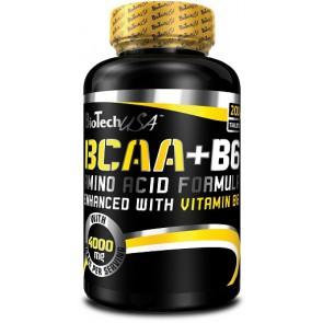 BioTech BCAA+B6 200 Tabl