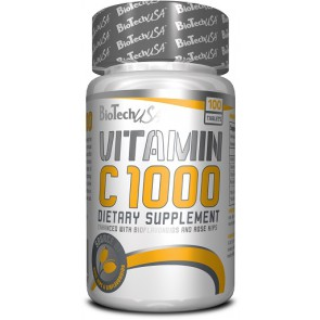 BioTech Vitamin C 1000 - 100 Tabl.