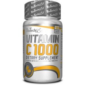 BioTech Vitamin C 1000 - 30 Tabl.