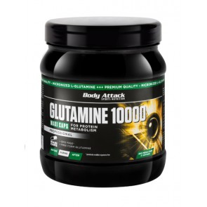 Body Attack Glutamine 10000, 300 Kapsel