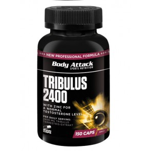 Body Attack Tribulus 2400, 150 Kapsel