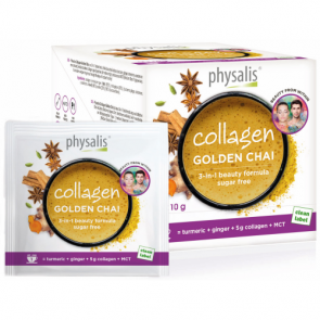 Physalis Collagen Golden Chai 12x10 gr