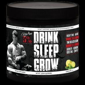 Rich Piana 5% Nutrition Drink Sleep Grow Night Time Aminos 450G