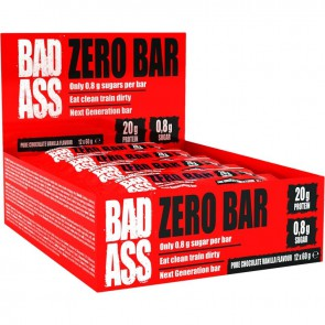 FA Nutrition BAD ASS Zero Bar 12x60g