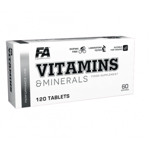 FA Nutrition Performance Vitamins & Minerals 120 Tabl.