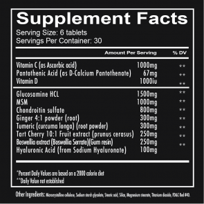 Redcon1 Foxtrot - Joint Support 180 Tablets