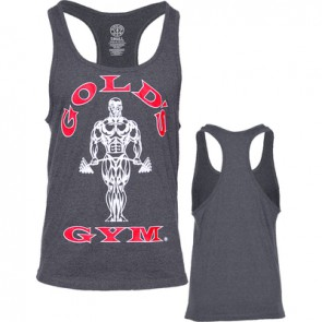 Gold´s Gym Classic Stringer Tank Top - Charcoal - Dunkelgrau