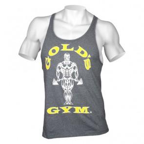Gold´s Gym Classic Stringer Tank Top - Hellgrau