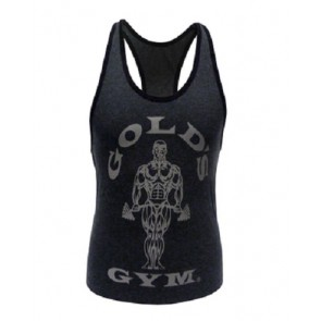 Gold´s Gym GGLVST021  - Ladies Loose Fit Tank - charcoal