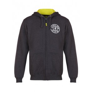 Gold´s Gym GGSWT007 - Charcoal Zip Hoodie
