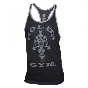 Gold´s Gym GGVST004 Contrast Stringer schwarz/grey