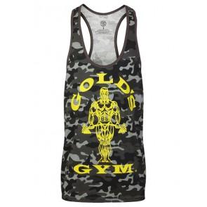 Gold´s Gym GGVST051 Muscle Joe Premium Tank Camo - black