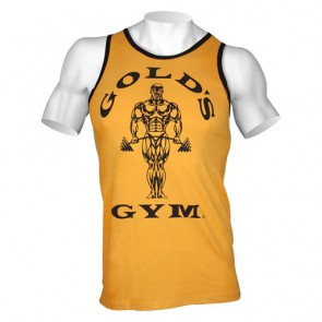Gold´s Gym Muscle Joe Contrast Tank gold