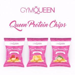 Gymqueen Queen Protein Chips Vorratspackung (14x50g)
