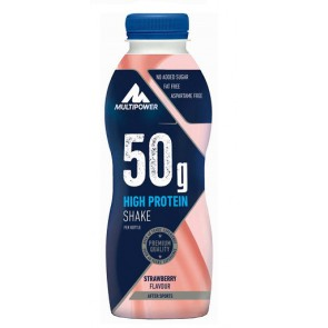 Multipower 50g High Protein Shake 12x500ml